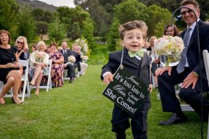 Cute Boy at Wedding