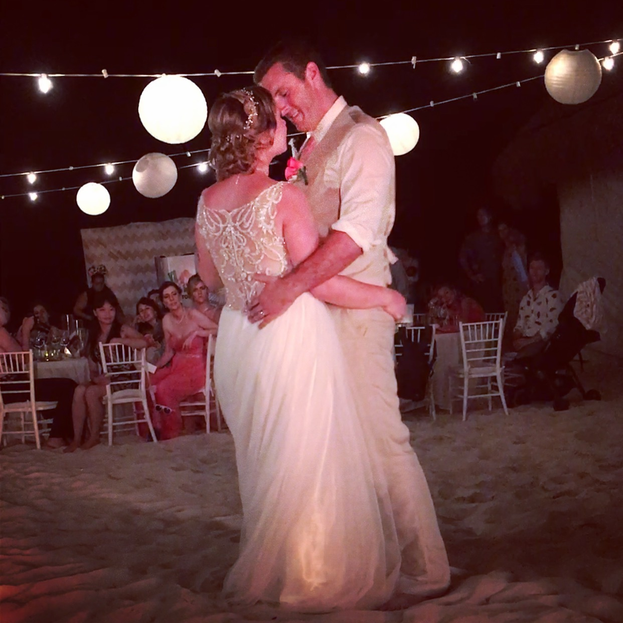 Rachel Magical Beach Wedding - First Dance