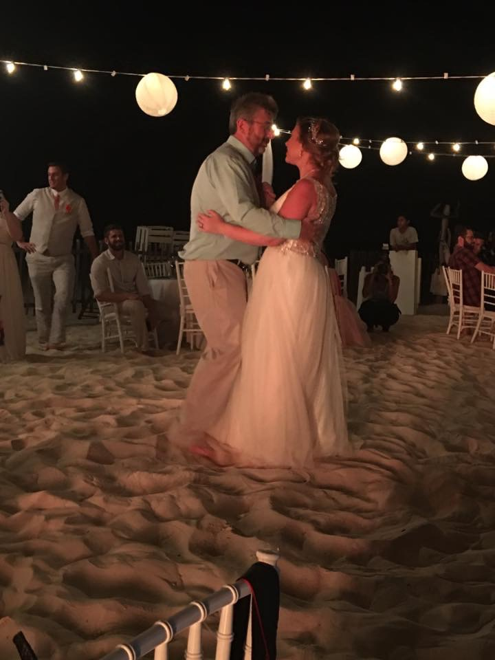 Magical Beach Wedding - Father Daughter Dance