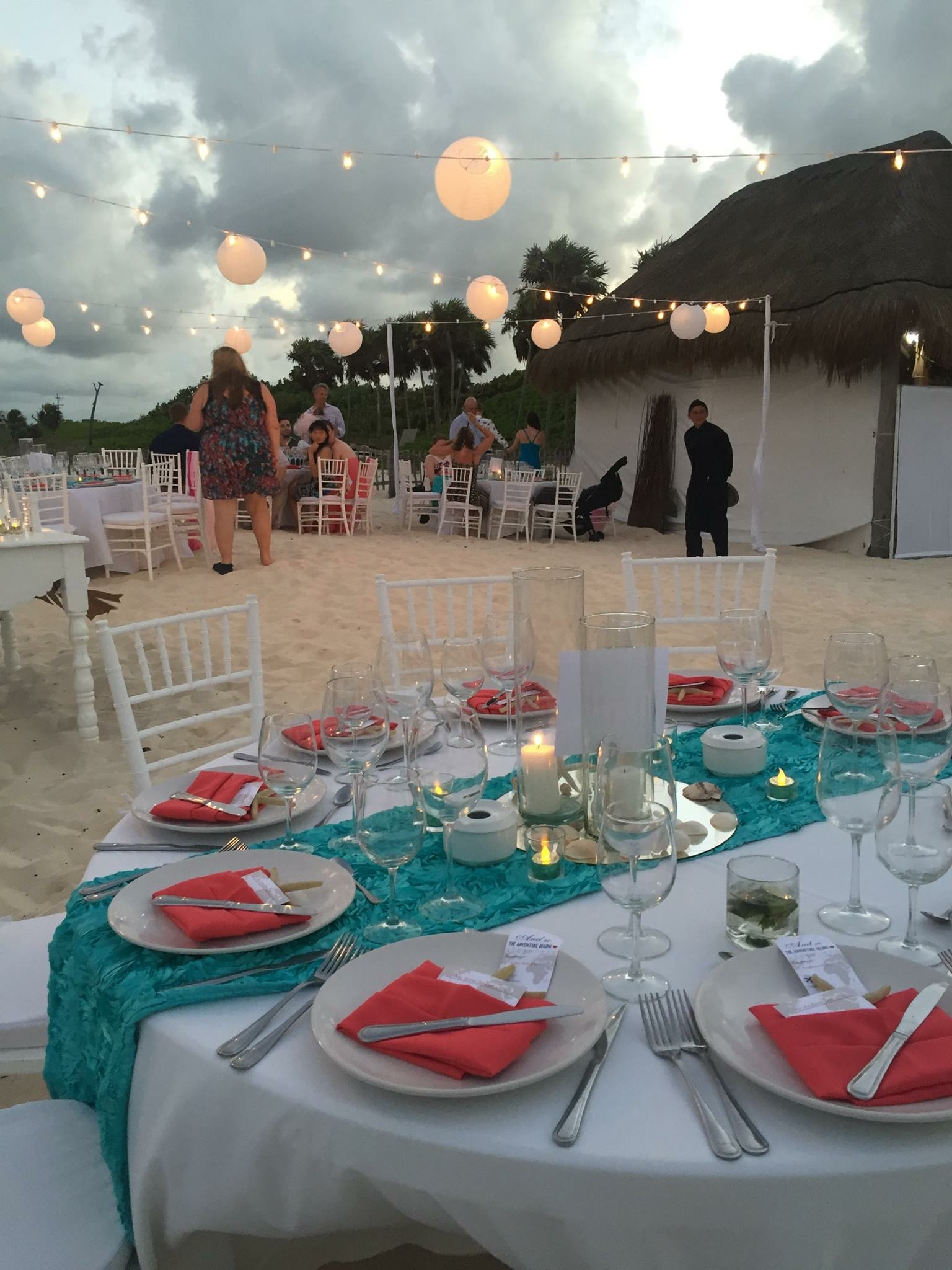 Magical Beach Wedding - Reception