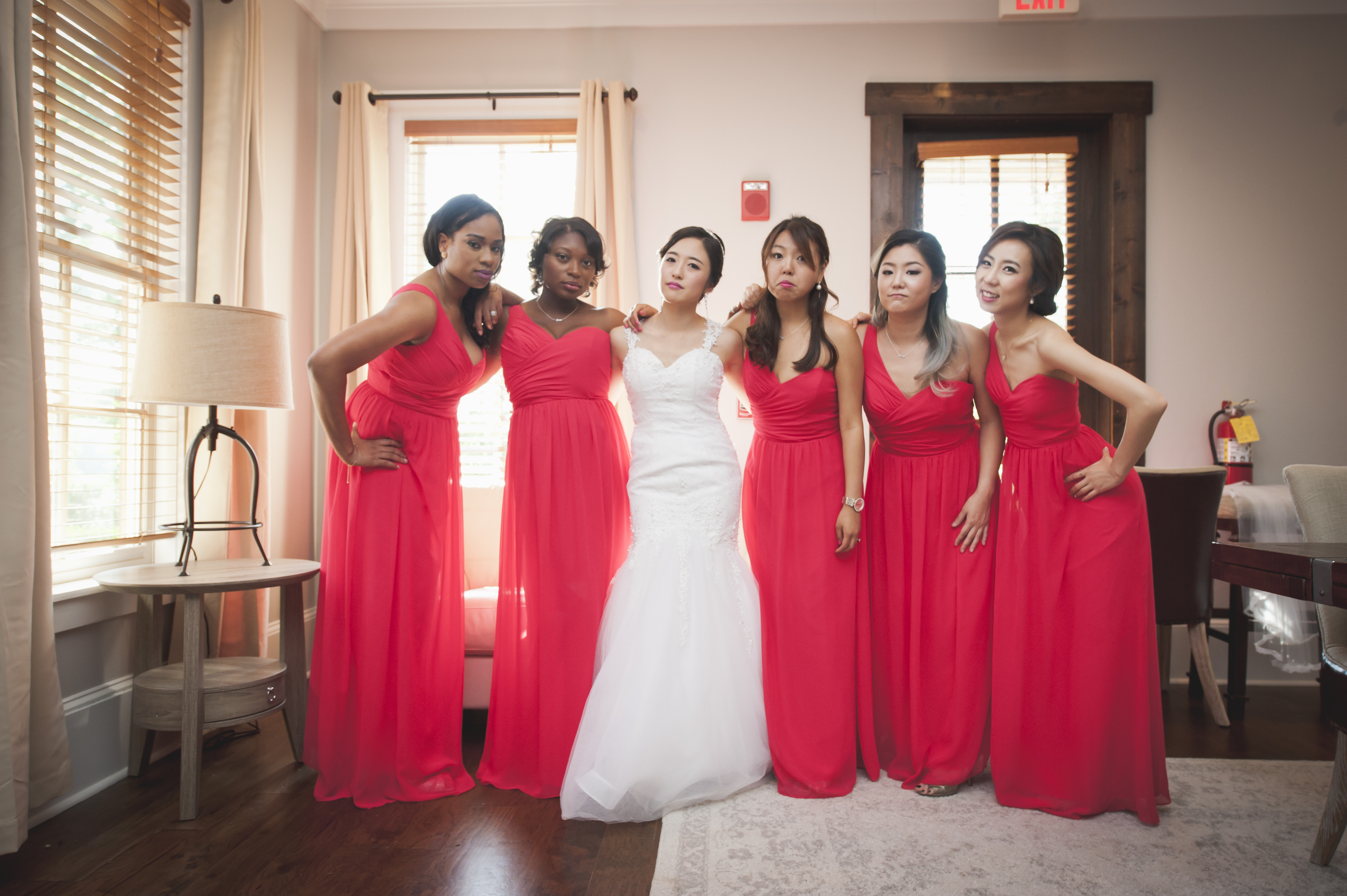 perfect wedding - bridesmaids