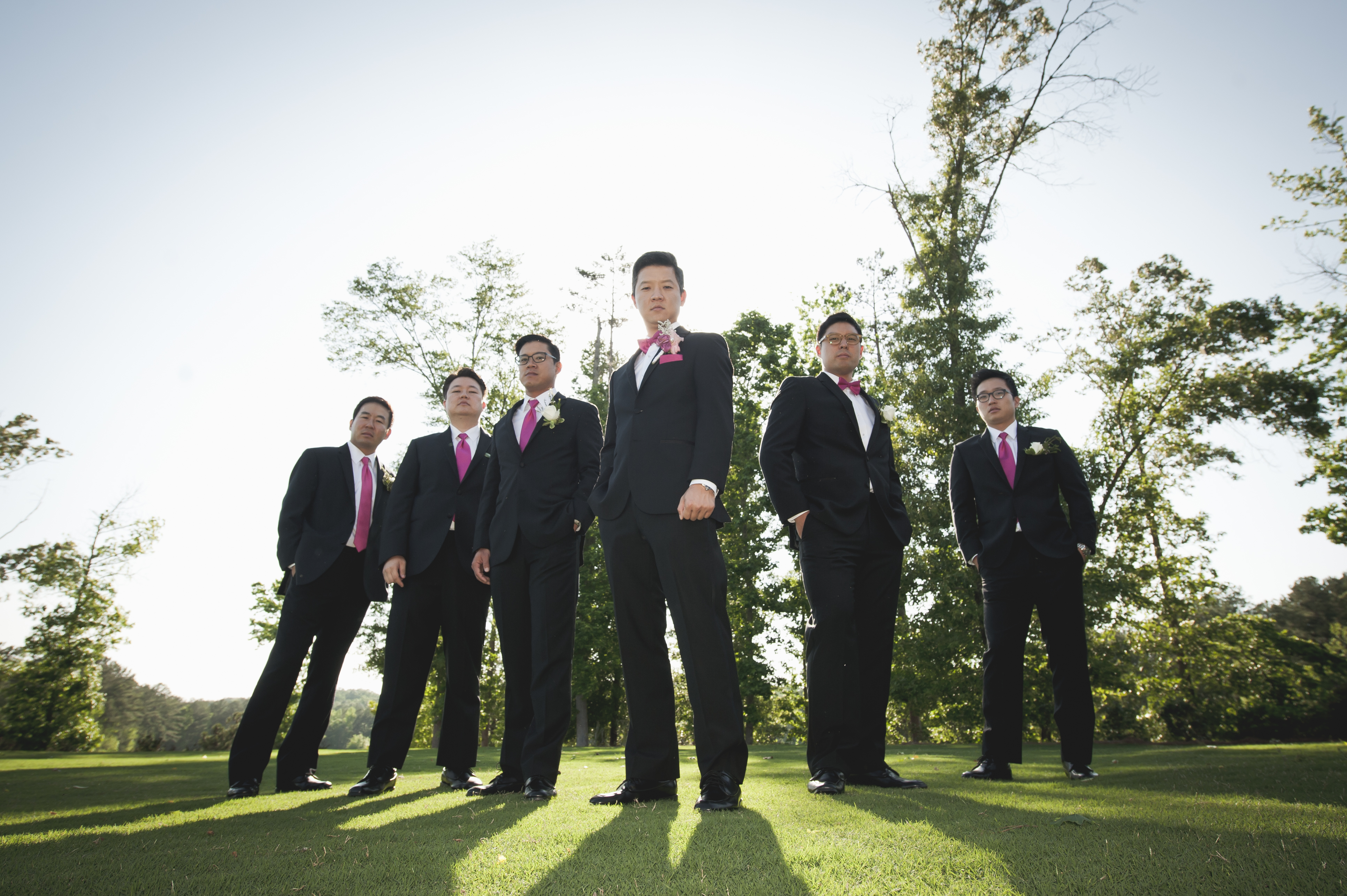 perfect wedding - groomsmen