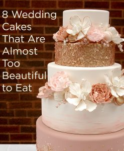 A Wedding Cake Is Probably The Most Important Item At S Reception Whether Incorporates Their Colors Flowers