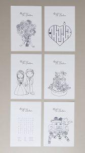 Wedding Coloring Book