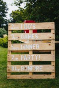 Wedding Game Sign