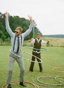 Wedding Game Hula Hoops