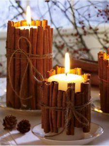 Fall Wedding Candles