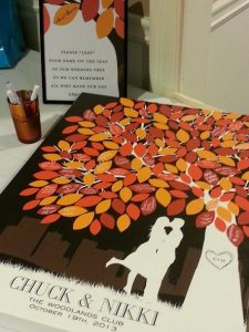 Fall Wedding Guestbook