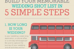 Wedding Photo Cheklist - build your memorable wedding shot list in 5 simple steps