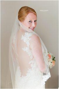 Fun Wedding in Watch Hill, RI - Bride