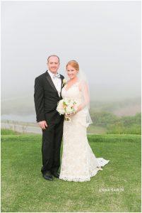 Fun Wedding in Watch Hill, RI - Bride and Groom