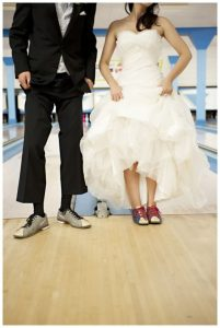 affordable wedding ideas - bowling-alley-wedding