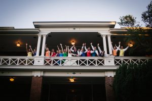 Troutdale wedding video - wedding party