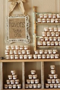 affordable wedding ideas - jam-wedding-favor
