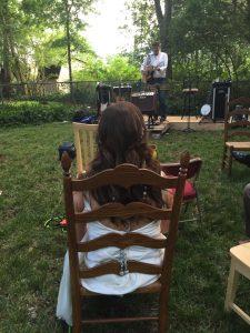 backyard wedding video - reception