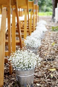 affordable wedding ideas - flowers