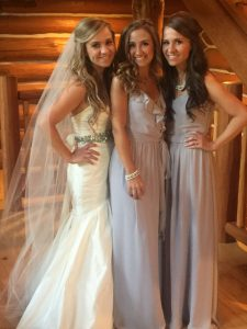 Bridesmaids with Bride - Lovely Wedding