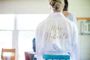 Muskoka wedding video - bride