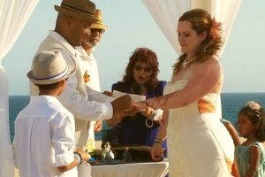 Alicea and Arvin ceremony