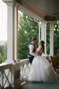 Troutdale wedding video - couple
