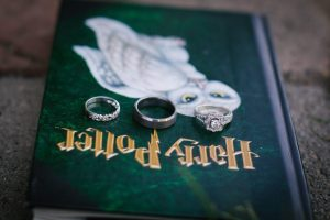 Troutdale wedding video - rings