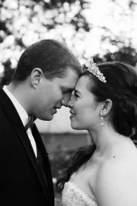 Troutdale wedding video - bride and groom