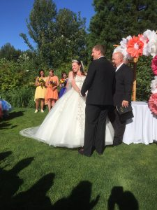 Troutdale wedding video - ceremony