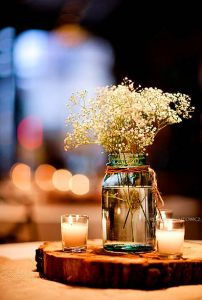 rustic wedding DIY ideas you can actually do centerpieces