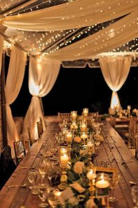 rustic wedding lights - rustic wedding DIY ideas you can actually do