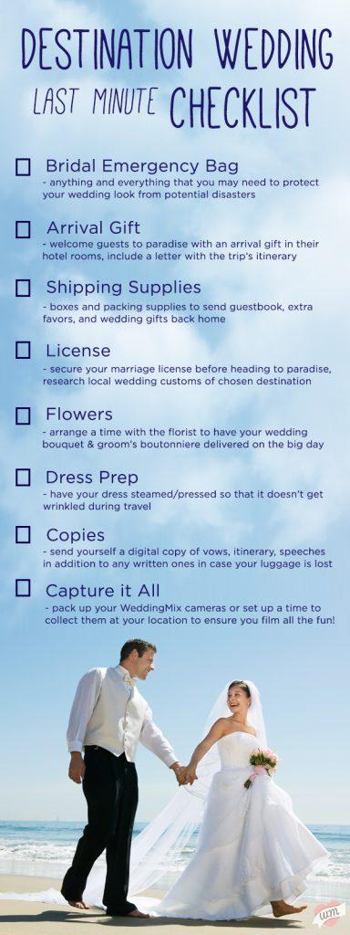 Destination wedding checklist small wedding checklist phoenix linkedthe best destination wedding checklist wedding details the destination wedding wedding basics the best junglespirit Images