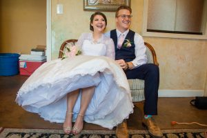 Roswell Wedding Video - couple
