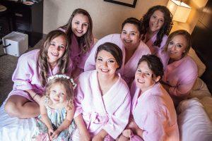Roswell Wedding Video - bridesmaids