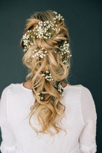 pretty wedding hairstyles blonde