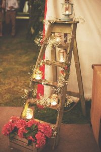 rustic outdoor wedding venue decorations rustic wedding DIY ideas you can actually do