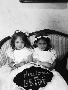 Roswell Wedding Video - flower girls