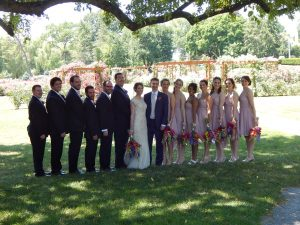 Lehigh Valley wedding video - bridal party