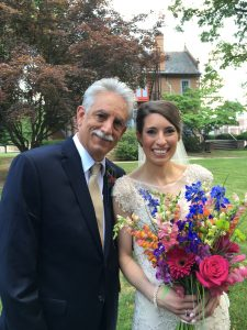 Lehigh Valley wedding video - bride and her father