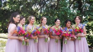 Lehigh Valley wedding video - bridesmaids