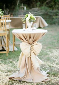 cocktail stands wedding - outdoor wedding inspiration