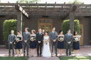 Yountville wedding video - Bridal Party