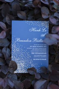 Yountville wedding video - Invitation