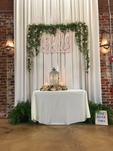 Roswell Wedding Video - arch