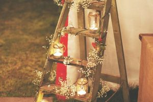 rustic outdoor wedding venue decorations
