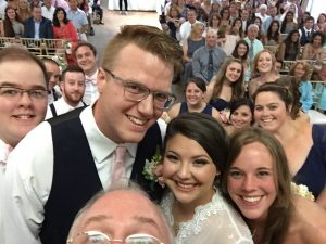 Roswell Wedding Video - selfie