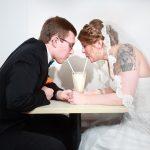 Fun wedding in Lafayette, IN