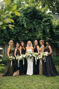 6 months wedding planning meaghan bridesmaids