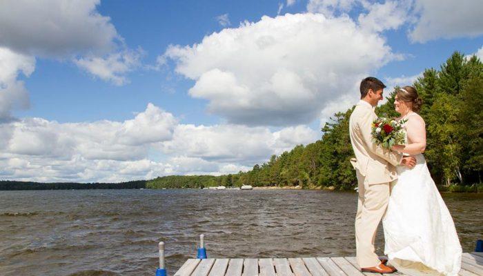 Intimate Wedding in Hayward, WI