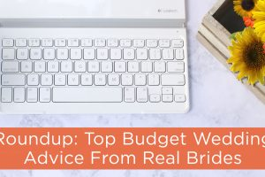 budget wedding advice