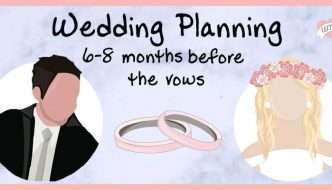 "Wedding Planning Checklist: 6 to 8 Months Until ""I Do"""