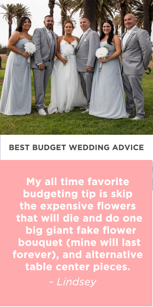 budget wedding advice lindsey